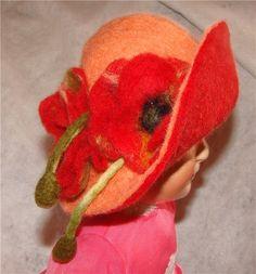 Шляпа для куклы в технике мокрое валяние / Одежда и обувь для кукол - своими руками и не только / Бэйбики. Куклы фото. Одежда для кукол