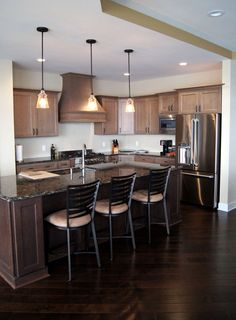 Beautiful Lake Mendota home's kitchen