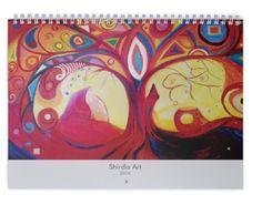 Kunst Wand Kalender 2016  von Art Du Soleil auf DaWanda.com