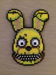 Springplush Perler Bead Sprite by PrettyPixelations on Etsy