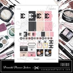 march coco chanel free sticker sheet coco chanel pinterest parf merie miniatur und puppen. Black Bedroom Furniture Sets. Home Design Ideas