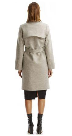 MILANO PEA COAT - Coats | SCANLAN THEODORE