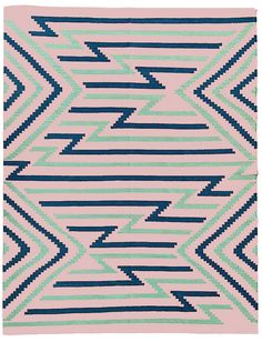 Jaeda rug, pink flamingo / lulu and georgia Textiles, Textile Prints, Textile Patterns, Textile Design, Color Patterns, Print Patterns, Indian Patterns, Quilt Design, Navajo Rugs