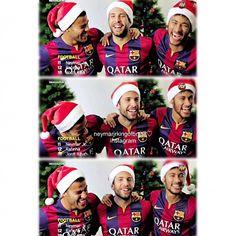 Them  [Rafinha, Jordi Alba & Neymar] | I couldn't stop laughing