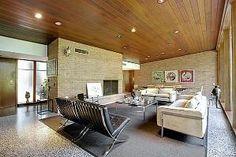 Mid Century Modern in Fort Worth, Texas by Samuel G. Wiener, Sr. Living room. by Raelynn8
