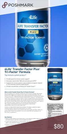 The Best product for your Immune System 4Life's number one immune system product, featuring 4Life Transfer Factor® and well-researched ingredients to balance and support the immune system response* Other