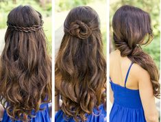Simple Quick hairstyles for girls Easy hairstyles for girls Basic Hairstyles, Easy Hairstyles For Medium Hair, Easy Hairstyles For Long Hair, Cute Hairstyles, Hairstyle Short, Hairstyle Ideas, Hot Hair Colors, Pinterest Hair, Girl Short Hair