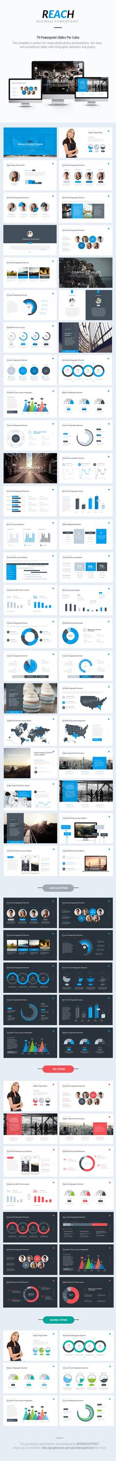 Business Powerpoint Template on Behance