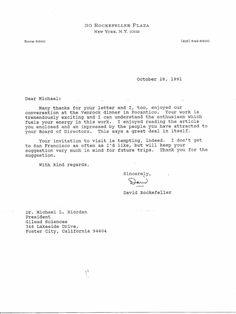 Letter from Vice President Al Gore to Michael L Riordan Gilead