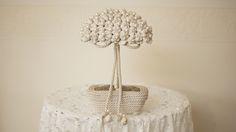 Perłowe drzewko szczęscia w Galeria Kwiatów na DaWanda.com #niezchinzpasji