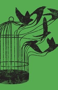 Cool tattoo idea- almost a deeper meaning (You cage yourself so you are the only one who can make yourself free)- birdcage morphing into birds