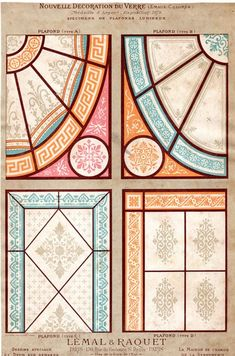 Grisaille, Decoration, Stained Glass Patterns, Stained Glass, Ceiling, Decor, Decorations, Decorating, Dekoration