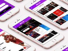 NBA TV Mobile Design, App Design, Nba Video, Nba Tv, Mobile Home, Mp3 Player, Videos, Mobile Homes, Application Design