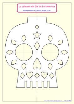 En México los personas utilizan hojas o guirlandas de papel picado para decorar los altares que preparan para el Día de Los Muertos.      Tr...