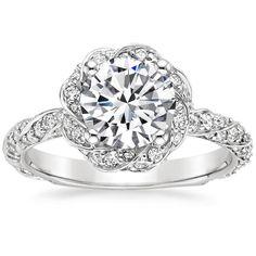 I think I found the ring I want... three years early :'( Platinum Cordoba Diamond Ring from Brilliant Earth