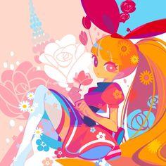 Tags: Anime, Fanart, deviantART, Power Puff Girls, Blossom (ppg)