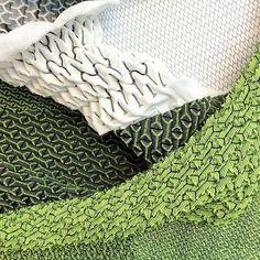 Knitting art fashion fabric manipulation 66 ideas for 2019 Textile Texture, Textile Fabrics, Textile Art, Knitting Charts, Knitting Patterns Free, Baby Knitting, Fabric Manipulation Techniques, Textiles Techniques, Fashion Fabric