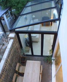 Pergola Ideas For Shade House Extension Design, Glass Extension, House Design, Victorian Terrace, Victorian Homes, Living Haus, Glass Roof, Patio Roof, House Extensions