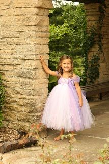 Tangled Up in Repunzel Tutu Dress