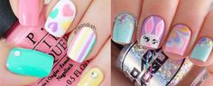 15 Easter Color Nageldesign Ideas Stickers 2017 F 620x250