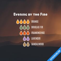 Evening by the Fire - Essential Oil Diffuser Blend