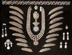 Romanov Russian wheat ears jewels