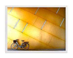 """""""Copenhagen Yellow"""" - Art Print by Sadye Sagov in beautiful frame options and a variety of sizes."""