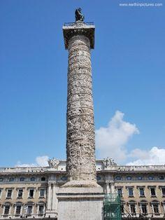 Roman - Column of Marcus Aurelius Studied this in college