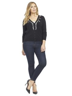 Cute Lace Cardi by @citychiconline   Available in sizes XS-XL