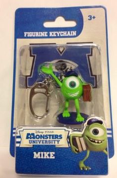 Monsters University 'Mike' Figurine Keychain Monsters Uni... https://www.amazon.co.uk/dp/B00VMGFAGU/ref=cm_sw_r_pi_dp_x_Ox61xbA1VWRSP