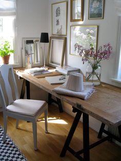 Inred Hemma: Bygg bord med bockar
