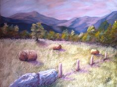 Poussières de pastels One of my latest pastels  Pastel painting by Véronique BEC