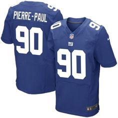 Chiefs Travis Kelce jersey Mens New York Giants Jason Pierre-Paul Nike  Royal Blue Elite 986d133ad