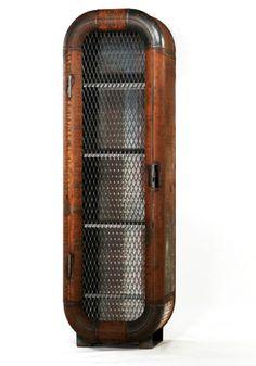 attractive ideas steampunk furniture. Steampunk furniture by Dennis Slootweg  Nederlands steampunk metal locker pantry with portholes