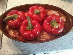 Omas gefüllte Paprika