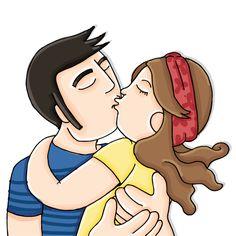 Como un beso puede mover el mundo.