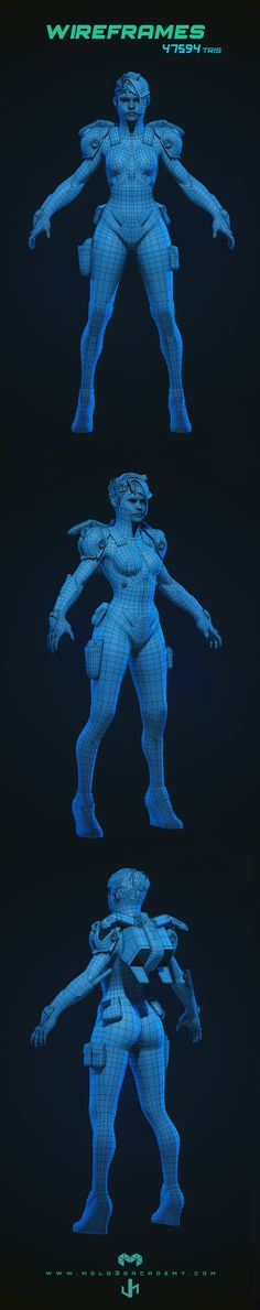 ArtStation - Character Creation for Video Games, J Hill