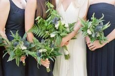 If you are looking for some special greenery décor details, pay your attention to fern leaves. It isn't an expensive plant but chic, elegant and easy-to-use. No matter when your wedding is, ferns are good for all seas...
