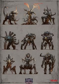 Digital Creature Concepts
