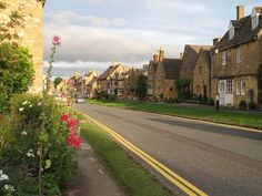 Broadway, Cotswolds, England. I've always wondered if my Broadway (surname) family came from this village originally. So far I've traced them nearby in the Oxon village of Cuxham back to the 1500's.