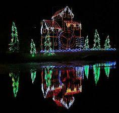 Christmas City Walkway of Lights, Marion, Indiana, Marion Indiana, Christmas events Marion Indiana
