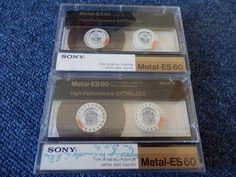 2x Sony Metal-ES 60. Reineisen Typ IV Metall. Guter Zustand!