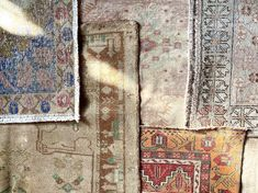 Authentic, hand knotted, turkish and egyptian rugs to bring a new splash of color to your space.