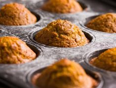 How To Make A Delicious, Healthy Pumpkin Muffin - Oola.com Best Pumpkin Muffins, Pumpkin Quinoa, Pumpkin Muffin Recipes, Pumpkin Breakfast, Healthy Pumpkin, Vegan Pumpkin, Pumpkin Puree, Pumpkin Cupcakes, Quinoa Muffins