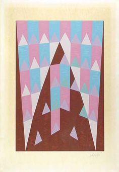 Obras de Alfredo Volpi - Ogivas