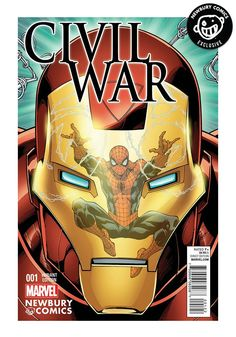 MARVEL COMICS Civil War Issue #1 - Todd Nauck Exclusive Cover
