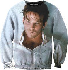 Stephen Dorff (Deacon Frost of Blade) print on sweatshirt