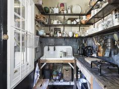 Sibella Court's former Society Inc. in Paddington up for sale - The Interiors Addict Commercial Kitchen Design, Old Sink, Shabby Chic Homes, Sweet Home, Interior Design, Home Decor, Kitchens, Bohemian Homes, Bohemian Interior