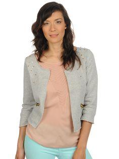 Vero Moda Sweatblazer grey € 24.95 | -38% buy cheaper