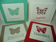 A Fanatical Stamper: Fresh Prints Paper Stack Cards, Itty Bitty Banners, Backyard Basics